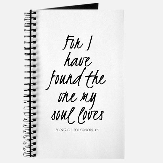 I have found the one my soul loves Journal