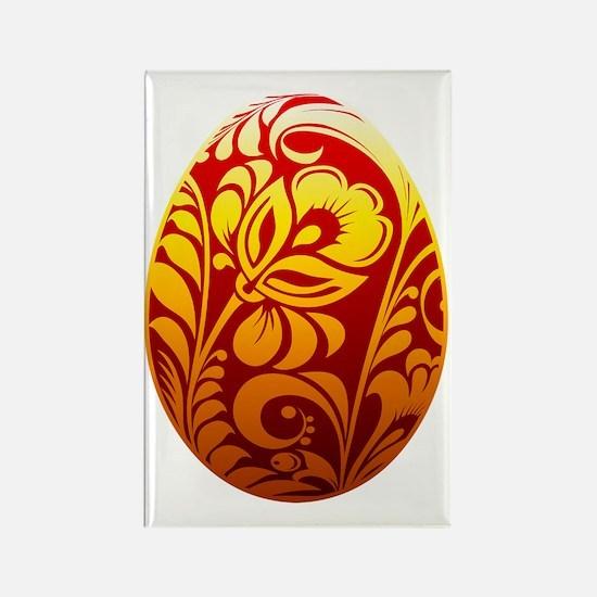 Unique Easter egg Rectangle Magnet