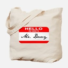 Hello My Name is Mr. Darcy Tote Bag