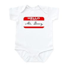 Hello My Name is Mr. Darcy Infant Bodysuit