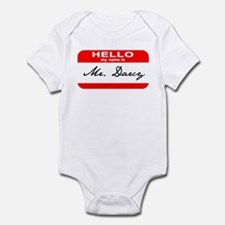 Hello My Name is Mr. Darcy Infant Bodysuit