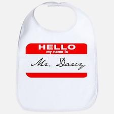 Hello My Name is Mr. Darcy Bib