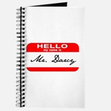 Hello My Name is Mr. Darcy Journal