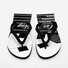 Our Wedding Clapperboard Flip Flops