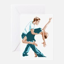 Funny Salsa Greeting Card