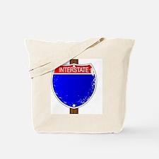Unique Interstate Tote Bag