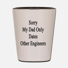 Funny Chemical engineer dad Shot Glass