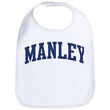 MANLEY design (blue) Bib