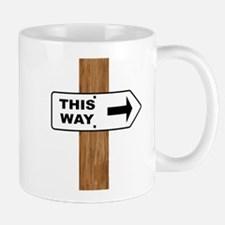 This Arrow Mugs