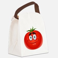 Cute Tomato Canvas Lunch Bag