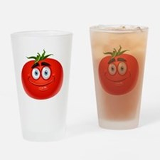 Cute Tomato Drinking Glass