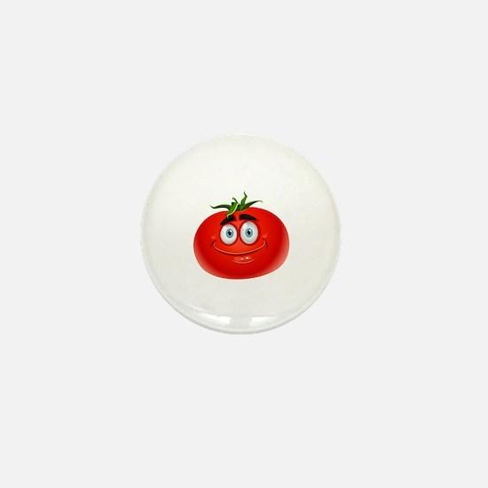 Cute Tomato Mini Button