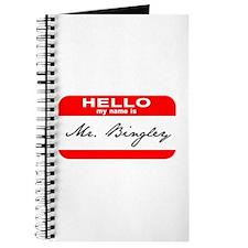 Hello My Name is Mr. Bingley Journal