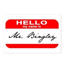 Hello My Name is Mr. Bingley Postcards (Package of