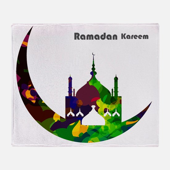 Ramadan Throw Blanket