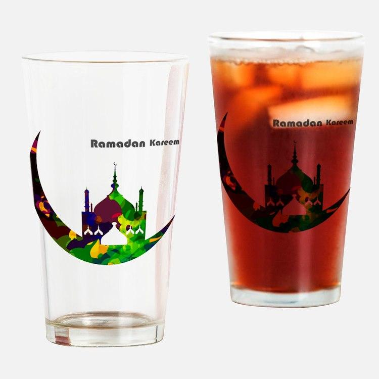 Cute Kareem Drinking Glass