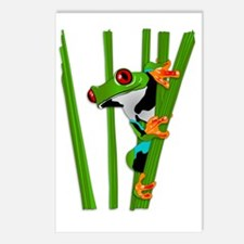 Unique Frogs Postcards (Package of 8)