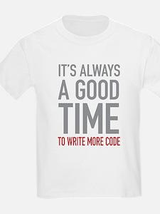 Write More Code T-Shirt