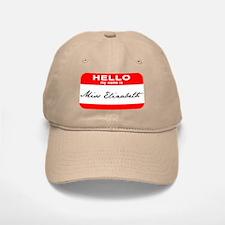 Hello My Name is Ms. Liz Baseball Baseball Cap