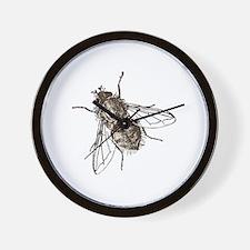 Cute Housefly Wall Clock