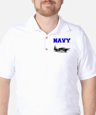 Navy Golf Shirt
