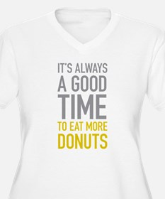 Eat More Donuts Plus Size T-Shirt