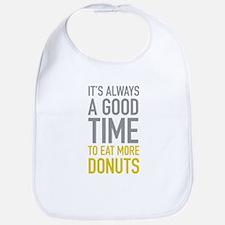 Eat More Donuts Bib