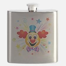 Cute Clown Flask