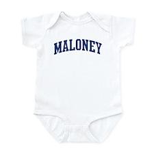 MALONEY design (blue) Infant Bodysuit