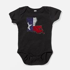 Unique Louisiana Baby Bodysuit