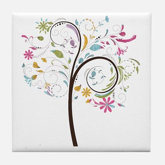 Cute Graphic Tile Coaster