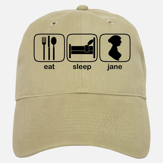Eat Sleep Jane Baseball Baseball Cap