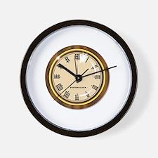 Unique Minutes Wall Clock