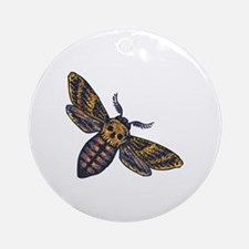 Cute Bees Round Ornament