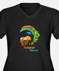Summer Special Plus Size T-Shirt