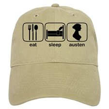 Eat Sleep Austen Baseball Cap