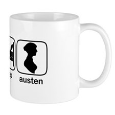 Eat Sleep Austen Coffee Mug