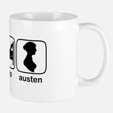 Eat Sleep Austen Mug