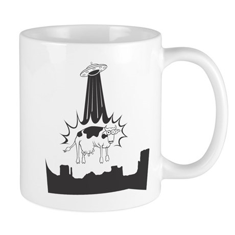 Cow Abduction Mug