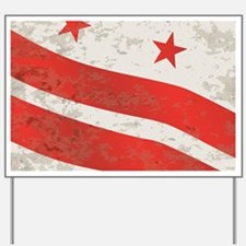 Cute State flag Yard Sign