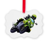 Motorcycle Picture Frame Ornaments