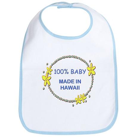 Baby Made in Hawaii Bib