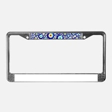 Evil eye License Plate Frame
