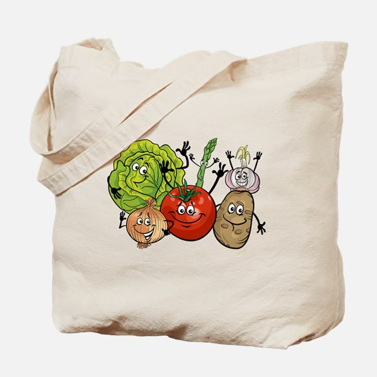 Funny Vegetable Tote Bag