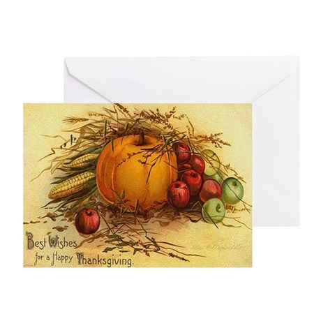 Fruits and Veggies Greeting Cards (Pk of 20)