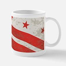 Washington DC State Flag Mugs