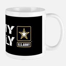 U.S. Army: Family (Black) Mug