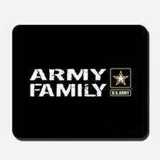 U.S. Army: Family (Black) Mousepad