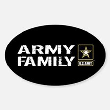 U.S. Army: Family (Black) Decal