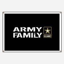 U.S. Army: Family (Black) Banner